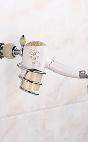 Jogo de Acessórios para Banheiro / Cromado Contemporâneo