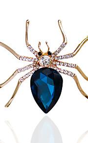 Dames Broches - Gepersonaliseerde, Uniek ontwerp, Standaard Broche Fuchsia / Marine Blauw Voor Bruiloft / Feest / Speciale gelegenheden / Dagelijks / Causaal