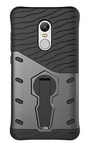 87545792862 Capinha Para Xiaomi Antichoque   Com Suporte Capa traseira Sólido Rígida PC  para Xiaomi Redmi Note