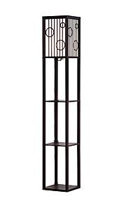 모던/콘템포라리 눈부심 방지 바닥 램프 제품 110-120V 220-240V 우드/ 대나무