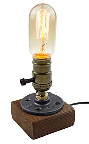 앤티크 예술적 단순한 창조적 전통적/ 클래식 밝기조절가능 테이블 램프 제품 110-120V 220-240V 우드/ 대나무
