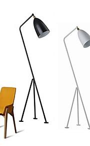 Metallisch Moderne Künstlerisch Kreativ Modern/Zeitgenössisch Stehleuchte Für Metall 110-120V 220-240V Weiß Schwarz