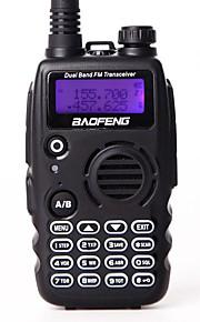 BAOFENG Walkie-talkie Håndholdt Advarsel Om Lavt Batteri Programmerbar med PC software Stemmekommando VOX Kryptering Høj/lavstrømsskifter