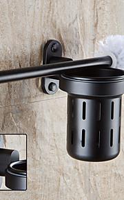 Toalettbørsteholder Høy kvalitet Aluminium 1 stk - Hotell bad