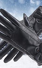 30 Γυναικεία Μονόχρωμο Μονόχρωμο   Αξεσουάρ   Χειμερινά Γάντια Γούνα Μέχρι  τον καρπό Ακροδάχτυλα Γάντια   Χειμώνας c238908d80d