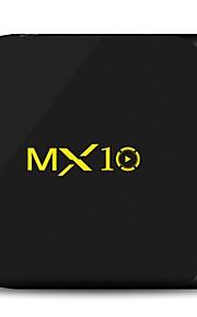 MX10 TV Box Android 7.1 TV Box RK3328 4GB RAM 32GB ROM Čtyřjádrový