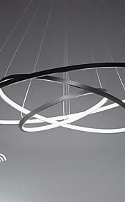 Lightinthebox 3 등 원형 펜던트 조명 엠비언트 라이트 Painted Finishes 금속 아크릴 LED 110-120V / 220-240V 웜 화이트 / 화이트 / 원격 제어로 조광 가능