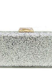 Women's Bags PU Evening Bag Sequin for Wedding Event/Party All Seasons Black Silver Dark Grey