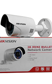 HIKVISION DS-2CD2012F-I 1.3mp IP Camera Buiten with IR-cut 128GB