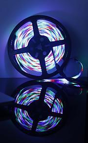 600 светодиоды Светодиодная лента 5M RGB + белый Можно резать Самоклеющиеся DC 12V
