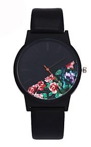 5642430e1e7a Ανδρικά Καθημερινό Ρολόι Μοδάτο Ρολόι Μοναδικό Creative ρολόι Χαλαζίας  Δέρμα Μαύρο / Μπλε / Πράσινο Ανθεκτικό