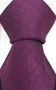Herren Party Arbeit Rayon Krawatte - einfarbig Jacquard, kreuz und quer