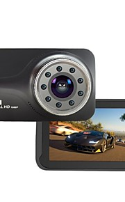 9 pz ir luce visione notturna novatek ntk96223 fhd 1080 p g-sensor 170 gradi auto dvr t639 dash fotocamera auto-detector