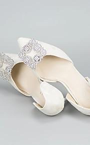 2pcs Rhinestones Decorative Accent Women's All Seasons Wedding Vacation Black Silver