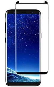 スクリーンプロテクター Samsung Galaxy のために S9 強化ガラス 1枚 フルボディプロテクター 3Dラウンドカットエッジ 防爆 硬度9H ハイディフィニション(HD)