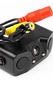 ZIQIAO 480TVL CCD Ledning 170 grader Bagende Kamera Vandtæt Summer alarm for Bil