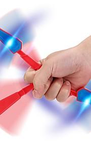 Magneettilelut Magneettilelu 1pcs Urheilu ja ulkoilu Lahja LED-merkkivalo Office Desk Lelut Fidget spinner -stressilelu Fidget Käsi