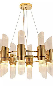 QIHengZhaoMing Chandelier Ambient Light - City View, LED Chic & Modern, 110-120V 220-240V, Warm White Cold White, Bulb Included