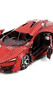 3D palapeli Luova Focus Toy Käsin tehty Ajoneuvot Aslustan malli Lelu Ralliauto Lahja