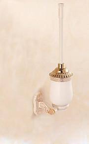 1set Multifunktion Høy kvalitet Moderne Metall Toalettbørsteholder Vægmonteret