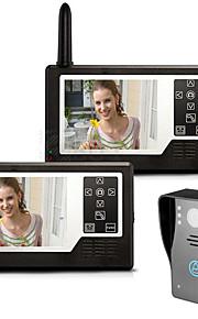 MOUNTAINONE SY3501A12 Senza filo 3,5 pollici 960*480Pixel Uno o due video citofono