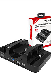 DOBE Oplader / Adapter / USB Hub Til Nintendo Switch,ABS Oplader / Adapter / USB Hub Nyt Design / Bærbar All-In-1 / Type-C
