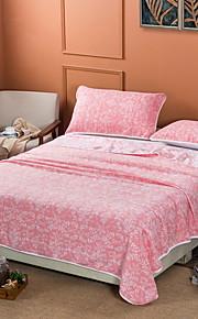 Comfortabel - 1 bedsprei Zomer Katoen Bloemen / Geometrisch