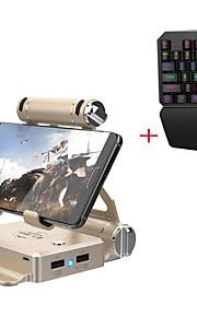 Gamesir Trådløs Redskaber / Tastaturer Til Android / IOS, Bluetooth Bærbar Redskaber / Tastaturer Metal 1pcs enhed USB 3.0