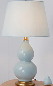 Moderno / Contemporaneo Decorativo Lampada da tavolo Per Ceramica Blu Giallo