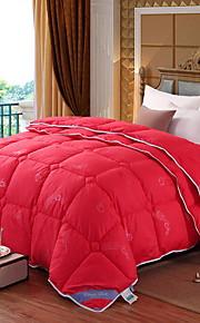 Comfortabel - 1 bedsprei / 1 gestikte deken Winter Polypropyleen Effen / Geometrisch
