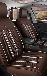 ODEER Car Seat Cushions Seat Covers Coffee Textile / PU Leather Common for universal All years All Models