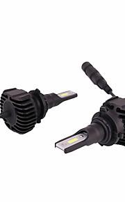 2 kusy světelné světelné soupravy vhodné pro toyota corolla korunový pozemní křižník led konverze kit 9006 hb4
