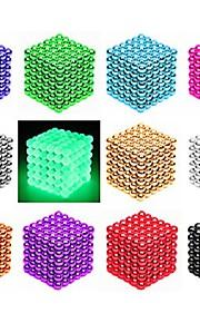 216/512 pcs 3mm / 5mm Magnetické hračky magnetické kuličky Stavební bloky Super Strong magnetů ze vzácných zemin Neodymové magnety Stres a úzkost Relief Office Desk Toys Udělej si sám Dětské / Dospělé