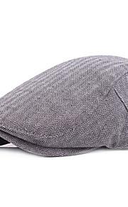 男性用 ベーシック ソリッド ベレー帽