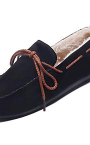 11ea348ba05 Γυναικεία Παπούτσια άνεσης PU Φθινόπωρο Καθημερινό Παπούτσια Boat Επίπεδο  Τακούνι Μαύρο / Γκρίζο / Καφέ