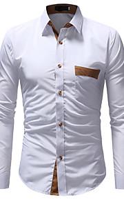 男性用 シャツ ベーシック カラーブロック