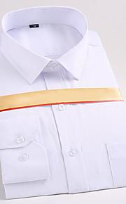 男性用 シャツ レギュラーカラー ストライプ コットン