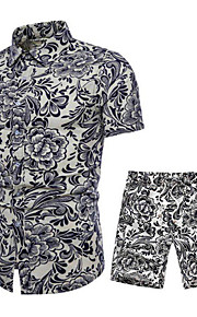 男性用 シャツ ストリートファッション グラフィック