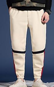 男性用 ベーシック スウェットパンツ パンツ - ソリッド ブルー
