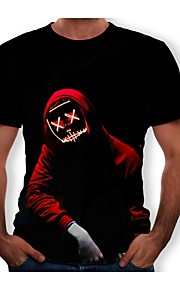 男性用 Tシャツ ラウンドネック ポートレート