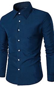メンズシャツ - 水玉シャツカラー
