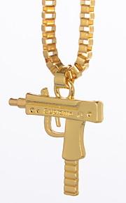 Муж. Классический ожерелья Однотонный
