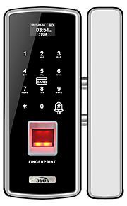 5YOA Silver-FPLock01 락 / 비밀번호 잠금 / 액세스 제어 시스템 세트 RFID / 배터리 부족 알림 / 쿼리 기록 지문 / 암호 / ID 카드 홈 / 아파트 / 학교