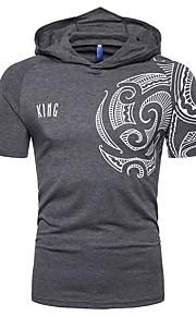 T-shirt Per uomo Monocolore Grigio XL