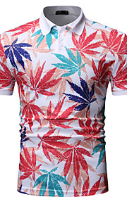 Муж. Рубашка Однотонный Белый XL