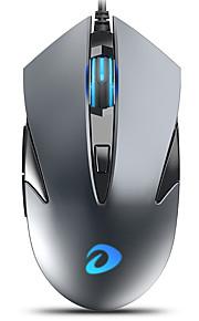 dareu lm113 유선 usb 옵티컬 게이밍 마우스 500/1000/2000/3000 dpi 4 개의 조절 가능한 dpi 레벨 6 개 키