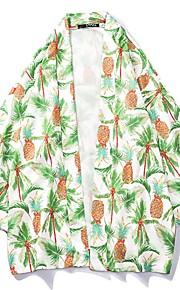 Муж. Рубашка Графика Зеленый L