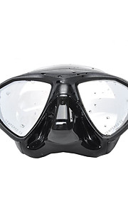 YON SUB Potápěčské masky Pod vodou Proti zamlžování Voděodolné Dva-Window - Plavání Potápění Vodní sporty Silikon - pro Dospělí Černá