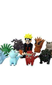 애니메이션 액션 피규어 에서 영감을 받다 나루토 Naruto Uzumaki PVC 8 cm CM 모델 완구 인형 장난감