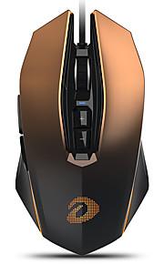 dareu em925pro 유선 usb 옵티컬 게이밍 마우스 멀티 컬러 백라이트 600/1200/2400/3600/5400/7200/10800/12000 dpi 7 개의 조절 가능한 dpi 레벨 7 개 키